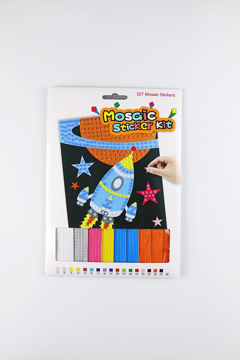 兒童益智玩具DIY馬賽克場景貼畫