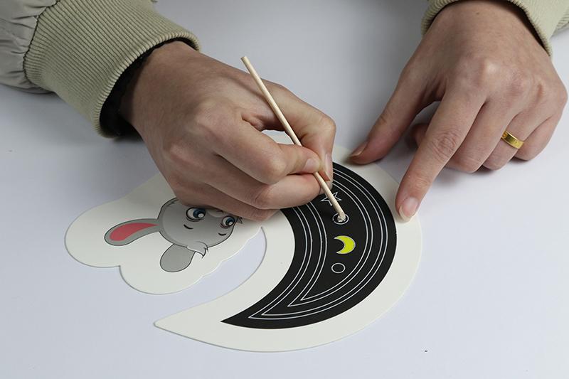 兒童益智玩具DIY刮刮卡+燙金