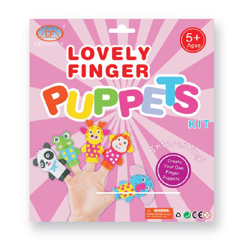 兒童DIY縫制手指布娃娃玩偶