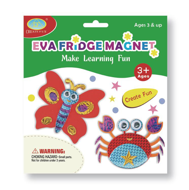 兒童益智玩具DIY磁性貼畫&蝴蝶螃蟹款